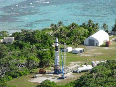 falcon rocket ready for launch