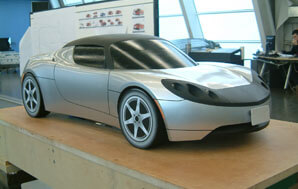 roadster clay model