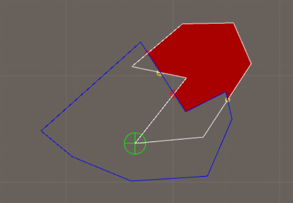 Use math to solve problems in Unity with C# - Cut Polygons