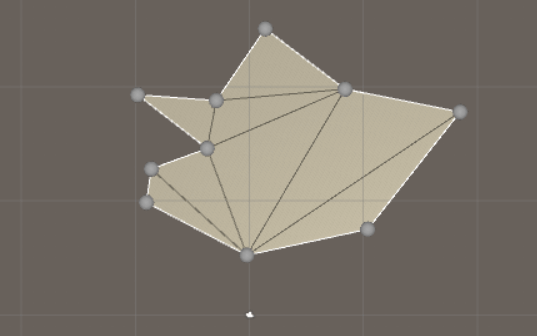 Use math to solve problems in Unity with C# - Triangulation