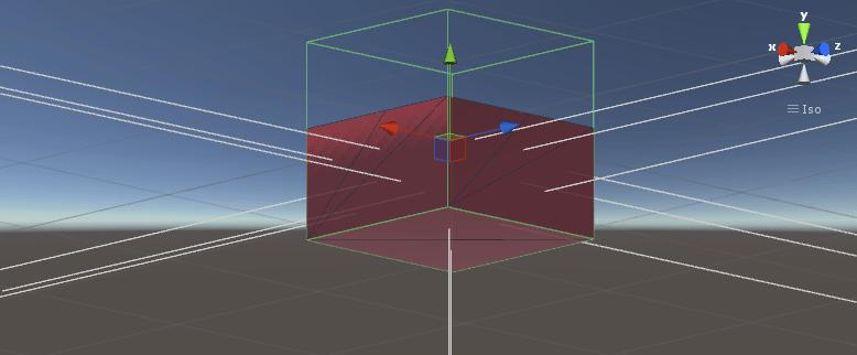 Unity boat tutorial scene triangle data