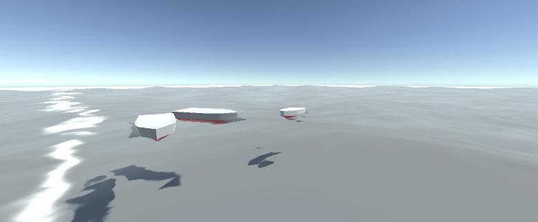 Unity boat tutorial scene