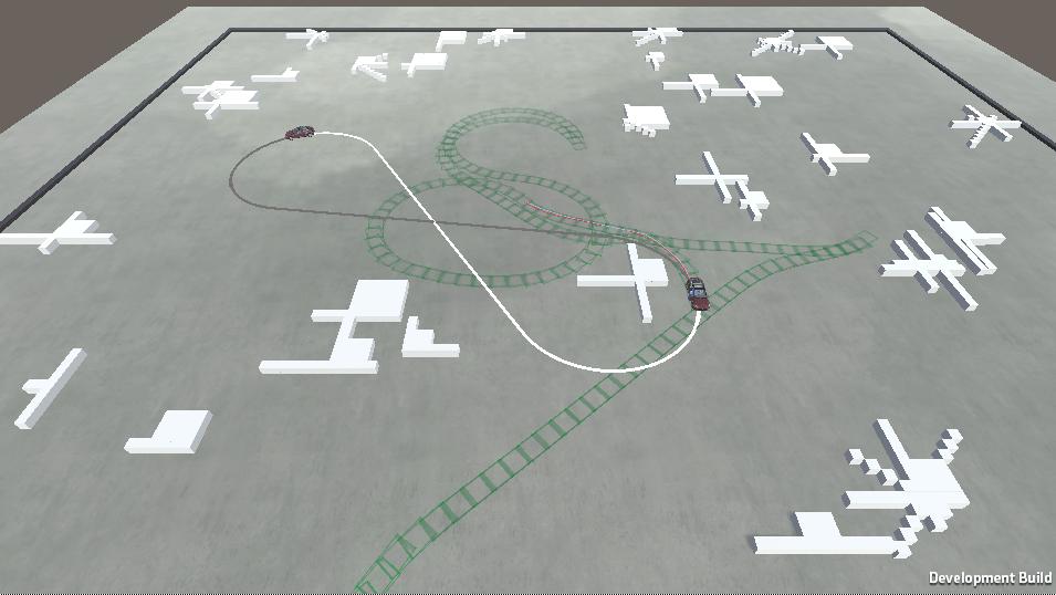 Self driving car using Dubins paths